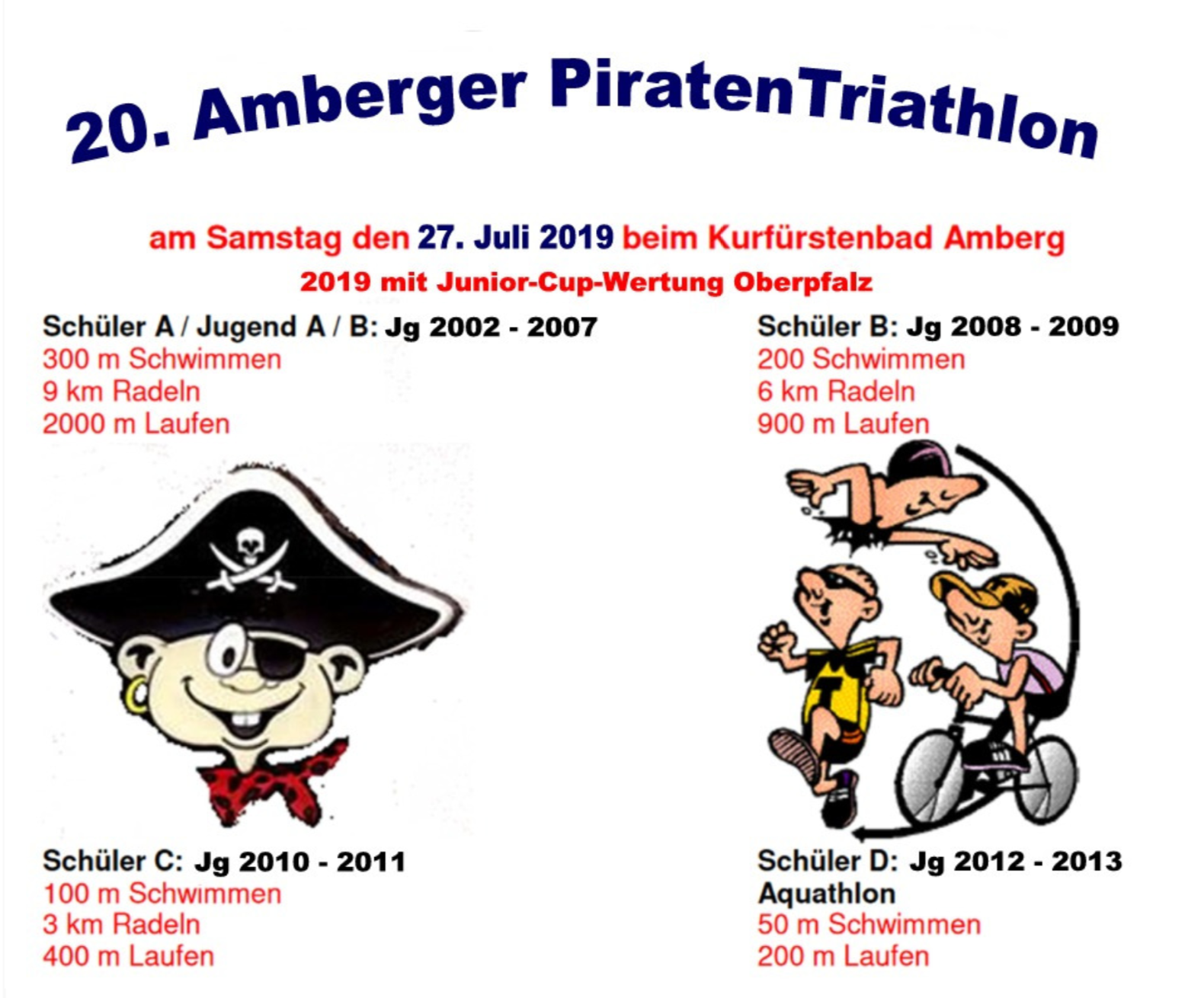 Piratentriathlon 2019