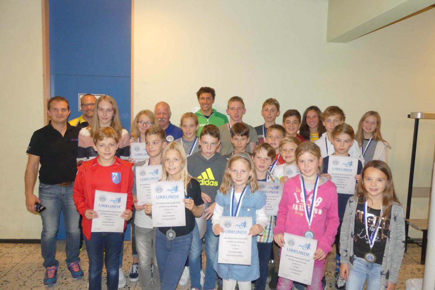 Siegererhrung Oberpfalzmeisterschaft